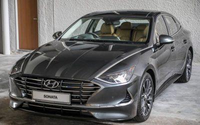 Hyundai Sonata 2021 Front View